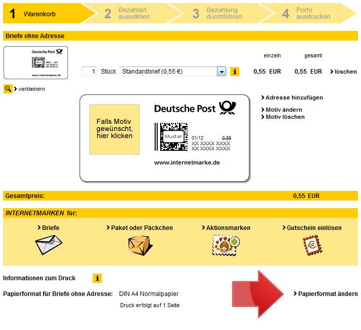 Briefe Drucken Und Versenden Lassen : Versandautomatisierung über internetmarke magento